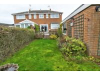 3 bed semi house for rent