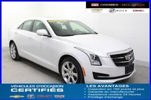 2015 Cadillac ATS SEDAN AWD Turbo Luxury *NAV CUIR TOIT*
