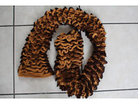 Handknitted scarf approx 52 inches