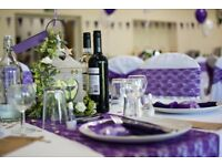 Lace Chair Sashes & Table Runners perfect for Wedding/Party