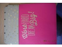 "10"" tablet cover in pink, brand new"