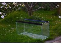 85L clear seal fish tank