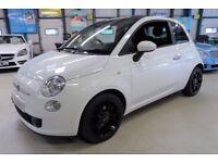 Fiat 500 TWINAIR PLUS (bosa nova white) 2011