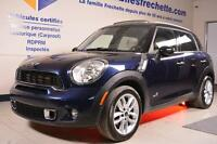 MINI Cooper Countryman S 2011 Turbo Traction Intégrale Cuir Toit