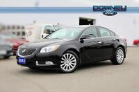 2013 Buick Regal Turbo Moonroof - Leather interior - Power seats