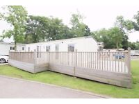 Static caravan near Sizewell power station 2 Bed, sleeps 6 people with large decking, pet friendly.