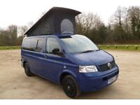 VW T5 CAMPERVAN. 2008. BRAND NEW PROFESSIONAL FULL 4-BERTH CONVERSION. ABSOLUTELY STUNNING. BARGAIN.