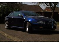 Alfa GT 3.2 V6. Blue. Good condition - May p/x for Luton type van.