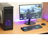Phoenix Hero Gaming PC Quad Core 8GB Ram Nvidia GTX HD Graphics FREE POSTAGE & WARRANTY