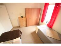 M/(34A) amazing and cheap twin room in kentish town some bill included