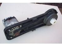 FLYMO COMPACT 330 350 Lawnmower motor & centrifugal drive assembly complete.