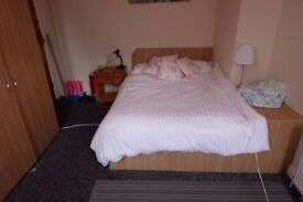 Spacious room in student flat suddenly available - highly sought-out area
