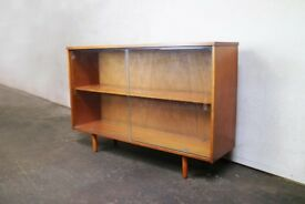 1970's mid century English retro book case by Avalon