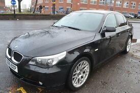 BMW 5 SERIES 2.5 525d SE 4dr (black) 2005