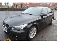 BMW 5 SERIES 2.5 525d SE 4dr (black) 2005