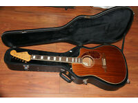 Guitar Fender California Kingman SCE Acoustic/Electric Guitar
