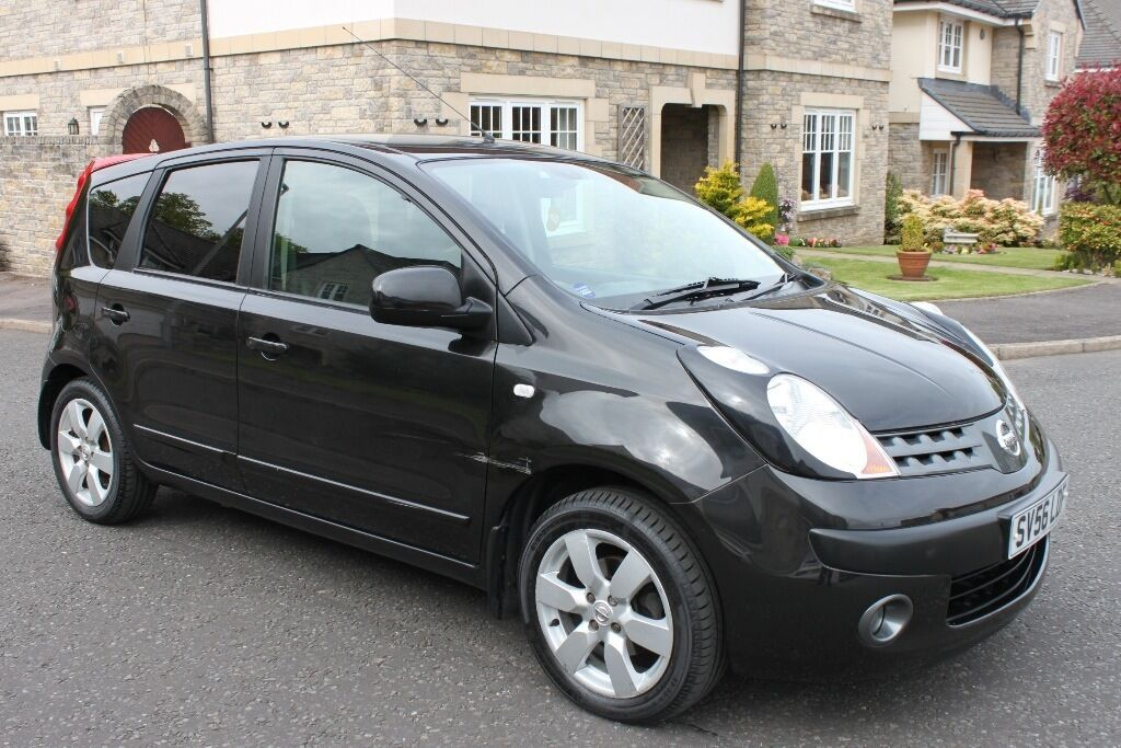 nissan note black 2007 automatic in aberdeen gumtree. Black Bedroom Furniture Sets. Home Design Ideas