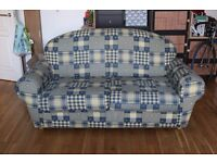 Double sofa bed in good condition.