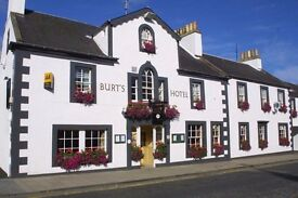 Burts Hotel, Require a Breakfast Chef. 5 Days Per Week. 7am - 11.am or 7am - 3pm. Includes weekends
