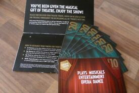 Theatre Gift Card Vouchers-amazing Christmas gift!