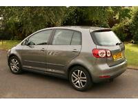 VW GOLF PLUS 1.4 Petrol Auto. 41,750 miles. Slide/tilt Sun Roof, Park Assist, VW Service History