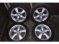 Honda 16 inch Alloys with tyres!