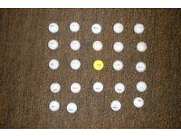 golf balls (Wilson)