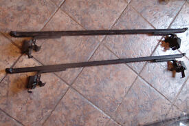 Ladder Rack Bars For Van or Car Roof With Gutters (Glasgow)