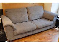 Three Seat Tidafors Ikea Sofa, Hensta Grey
