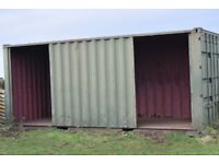 Sturdy Field Shelter (Shipping container) for Horses