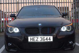 BMW 530d Black 2006 Logic 7 M5 LCI interior