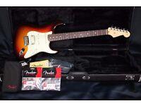 Fender American Deluxe Stratocaster Plus HSS Rosewood Mystic 3-Colour Sunburst inc Fender Hard Case