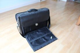 """Dell leather Laptop bag to fit 17"""" laptop"""