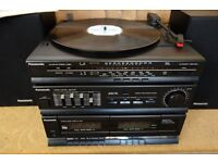 Record player,compact stereo system (Panasonic)