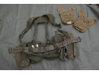 1958 Pattern Army Issue Canvas Webbing Set