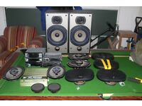Car Amps, Speakers and Stereos