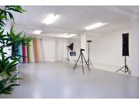 Day Light Photography Studio with Cove in the heart of East London!