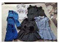 Girls school clothes