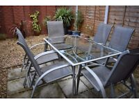 Six seater patio set