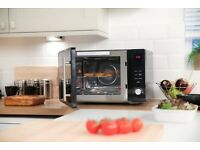 New Russell Hobbs RHM3003B 30L Digital 900W Combination Microwave, Black