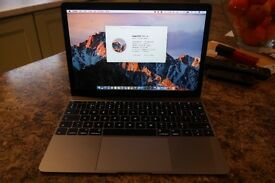 "Macbook 12"" Retina Space Grey 2016"
