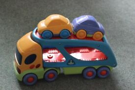 ELC Car transporter with 2 cars.