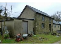 Improvable countryside home £125,000.