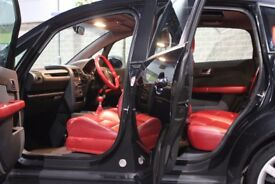 FULLY LOADED CARED FOR AUDI A2 1.6 FSI SPORTS BLACK RED LEATHER, FULL ELECTRIC WINDOWS, RS4, FSH