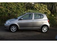 beautiful toyota yaris 1.3 colour colection.68000 miles full service history