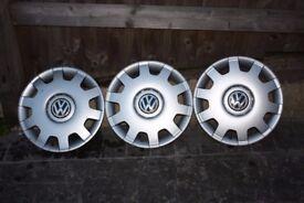 3 Volkswagen R14 OEM wheel caps to buy