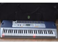 CASIO CTK-110 KEY LIGHTING KEYBOARD WITH CARRY CASE CAN BE SEEN WORKING