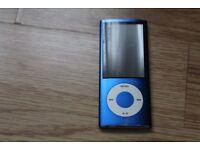 Ipod Nano 4th Generation - Electric Blue- 8GB