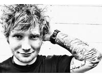 Ed Sheeran , Friday 15 June & coach travel