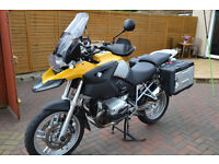 BMW R1200GS. MAY SWAP CASH EITHER WAY.
